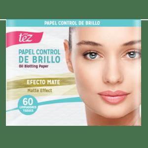 Papel Facial Control Brillo NUEVO