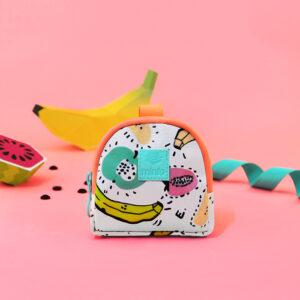 Monedero Mini Case Fruit Banana B