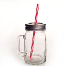 Set-x-4-Vasos-Cuerpo-Liso-con-Tapa-y-Pitillo