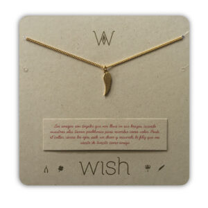 WHCLCD029O Collar cadena oro Alita