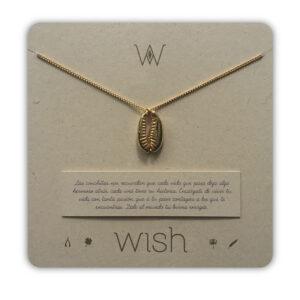 WHCLCD080O Collar cadena oro Conchita