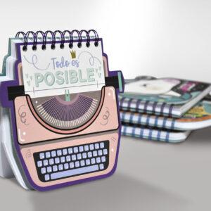 Libreta Maquina Escribir