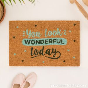 mrwonderful_8435460708104_woa3731en_felpudo-you-look-wonderful-today-eng-01_1